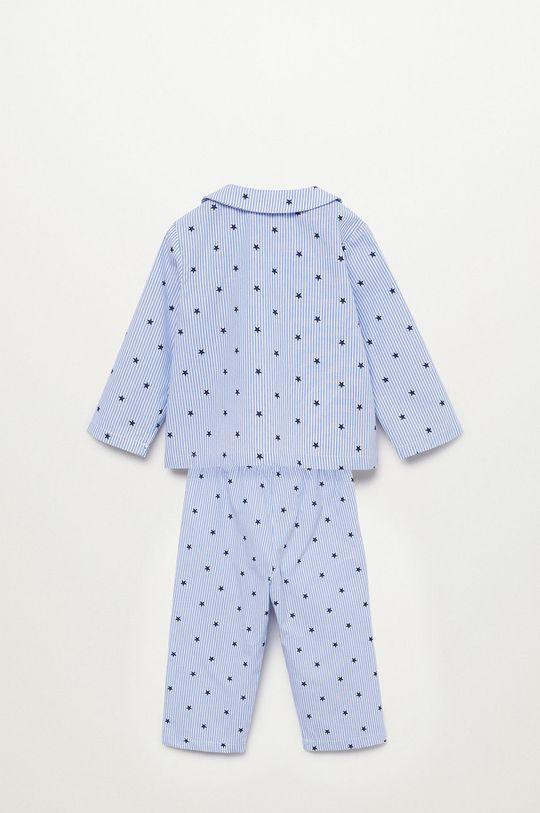 albastru pal Mango Kids - Pijama copii Oliviab