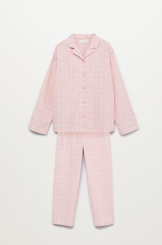 ružová Mango Kids - Detské pyžamo Caria Dievčenský