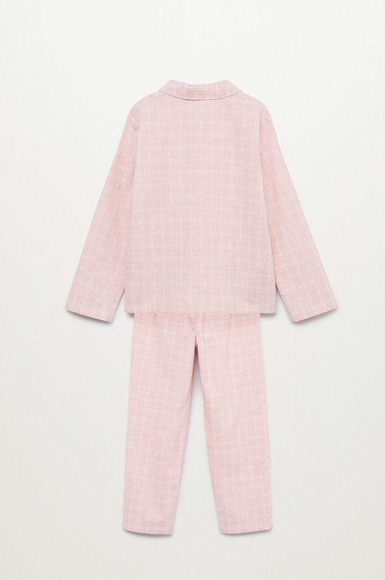 Mango Kids - Detské pyžamo Caria ružová