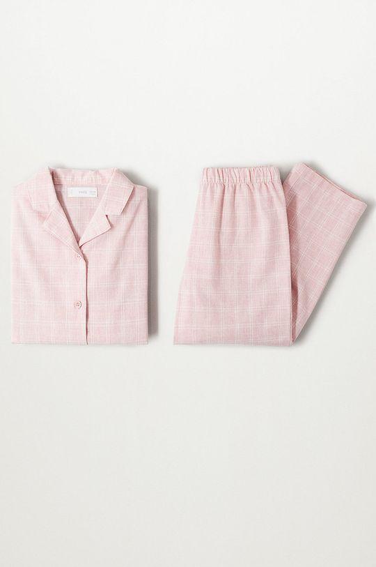 ružová Mango Kids - Detské pyžamo Caria