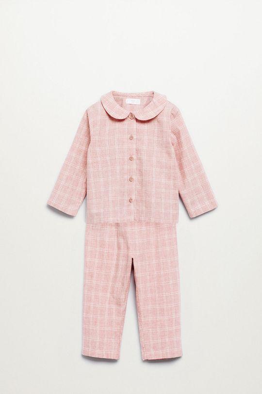 roz Mango Kids - Pijama copii Caria De fete