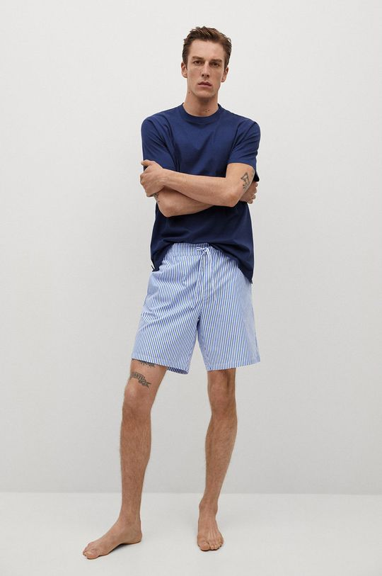 modrá Mango Man - Pyžamo Savina