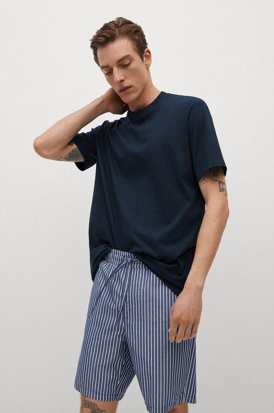 tmavomodrá Mango Man - Pyžamo Illetes