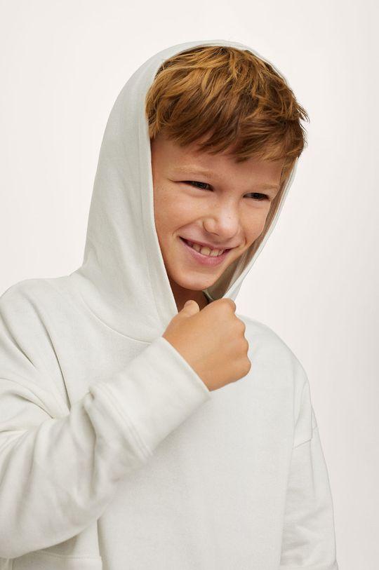 Mango Kids - Detská bavlnená mikina Eddie Chlapčenský