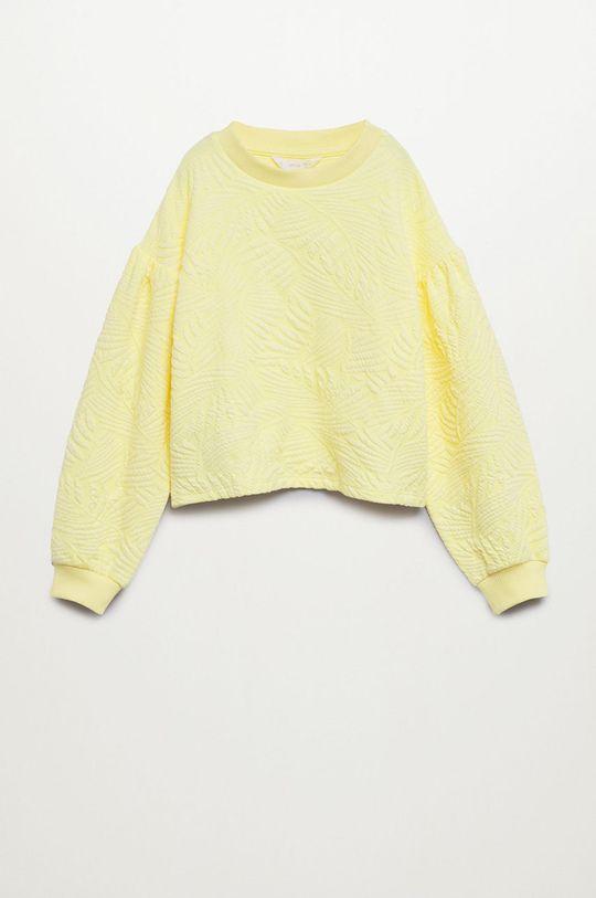 Mango Kids - Bluza dziecięca Malibut 116-164 cm Dziewczęcy