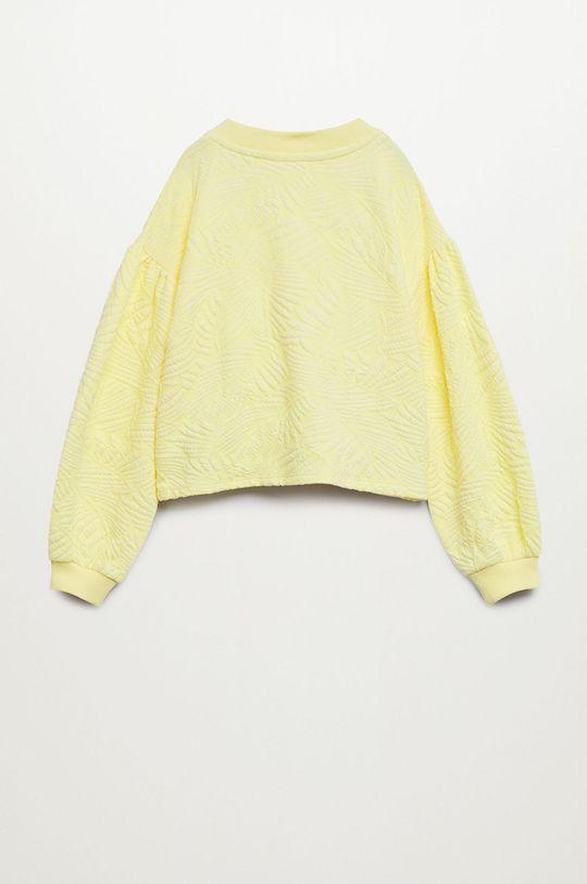 Mango Kids - Bluza dziecięca Malibut 116-164 cm