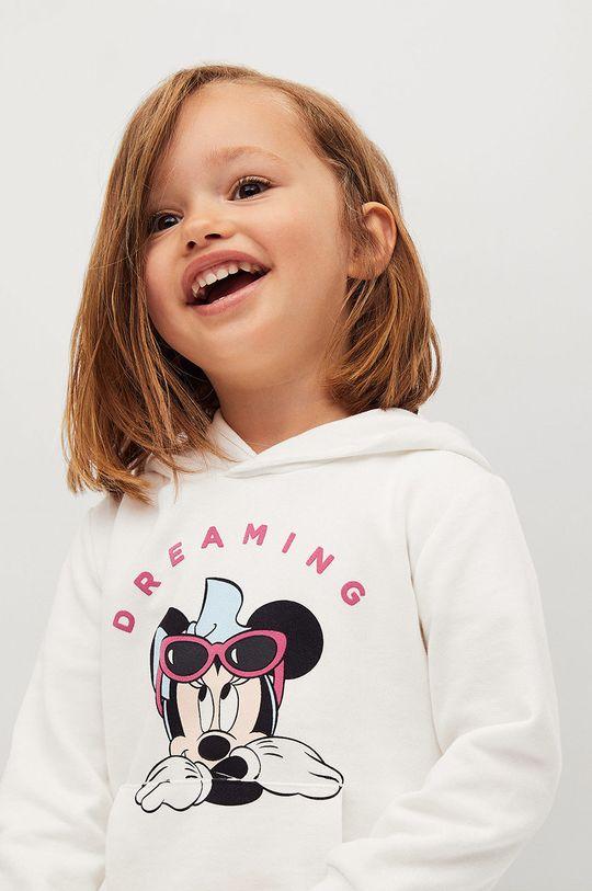 Mango Kids - Bluza bawełniana dziecięca Mdream 80-116 cm 100 % Bawełna