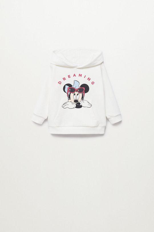 Mango Kids - Bluza bawełniana dziecięca Mdream 80-116 cm Dziewczęcy