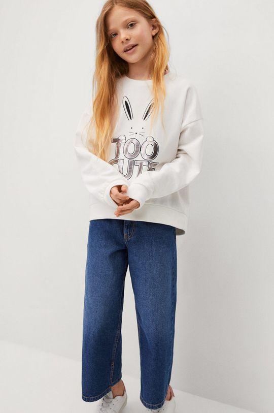 Mango Kids - Dětská bavlněná mikina Dublini 116-164 cm  100% Bavlna
