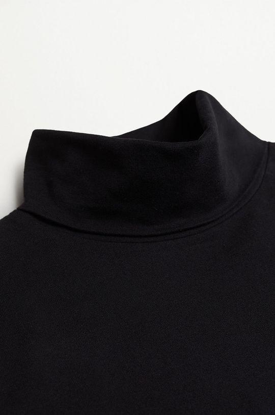 černá Mango Kids - Dětské tričko s dlouhým rukávem Turbo1