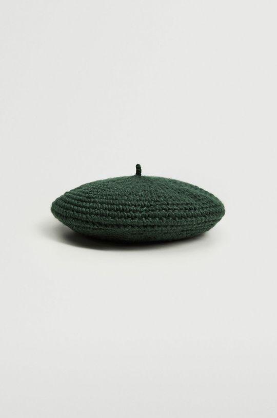 zielony Mango - Beret Boini Damski