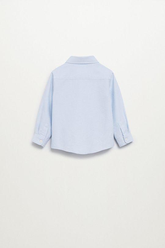 blady niebieski Mango Kids - Koszula bawełniana dziecięca Oxford