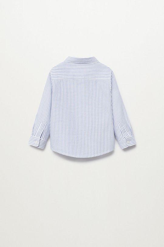 niebieski Mango Kids - Koszula bawełniana dziecięca Oxford