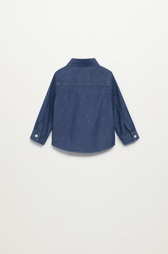 morská modrá Mango Kids - Detská košeľa DANIEL