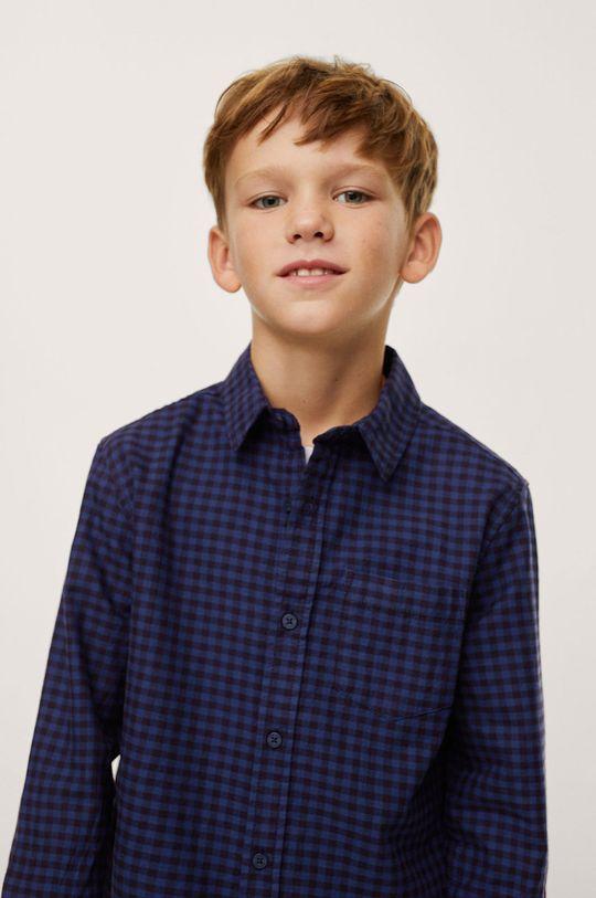 modrá Mango Kids - Detská bavlnená košeľa MARC