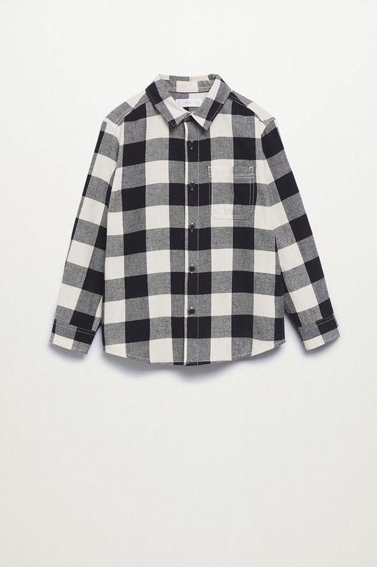 Mango Kids - Detská bavlnená košeľa Lenny
