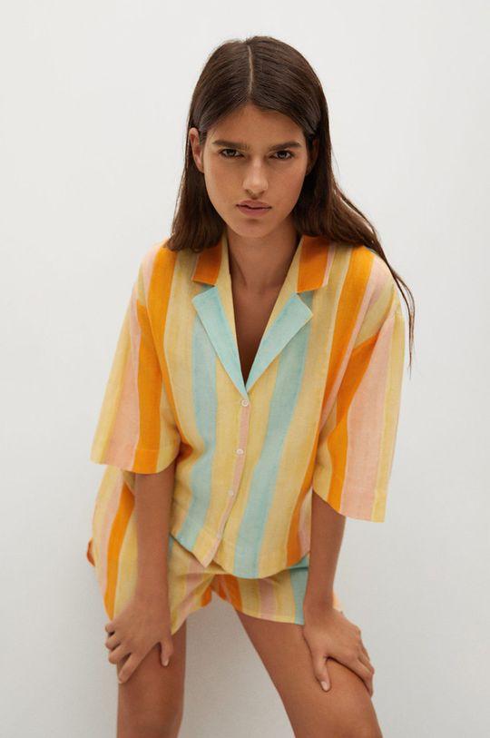 žlutá Mango - Košile Niza Dámský