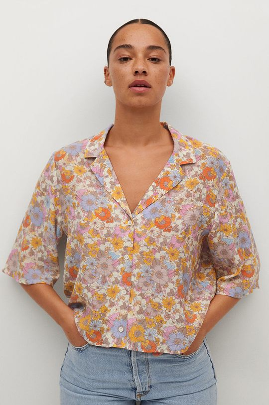 różowy Mango - Koszula Niza Damski
