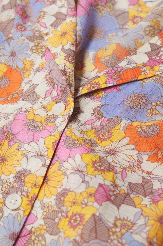 Mango - Koszula Niza różowy