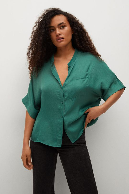 zelená Mango - Košile Jun Dámský