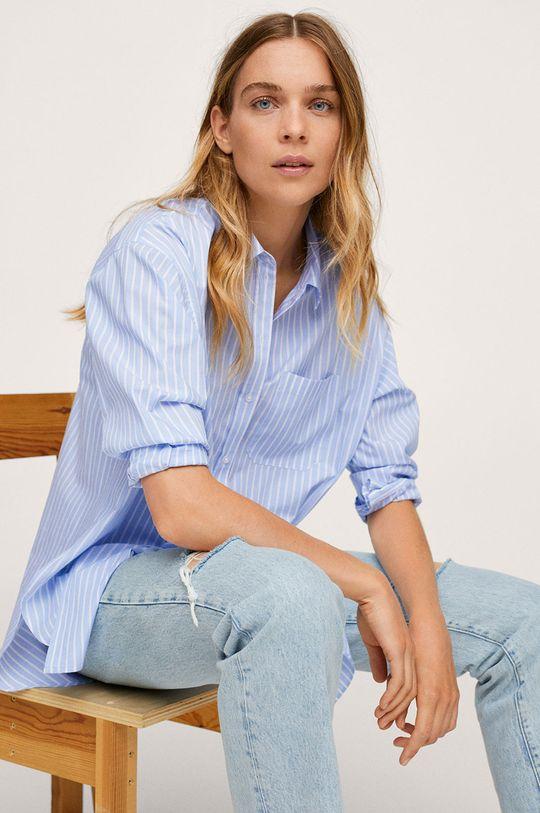 modrá Mango - Bavlnená košeľa James