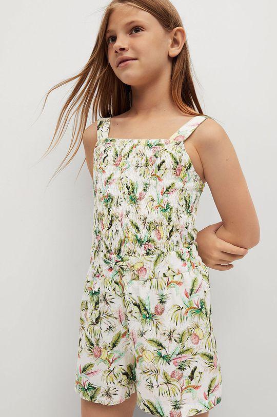 Mango Kids - Bluzka dziecięca Lulu 110-164 cm biały