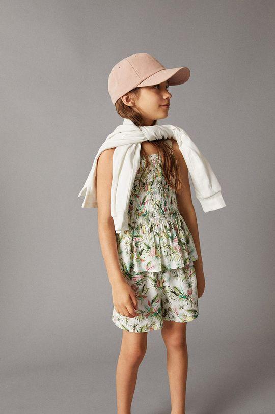 Mango Kids - Bluzka dziecięca Lulu 110-164 cm Dziewczęcy