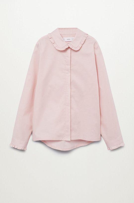 różowy Mango Kids - Koszula dziecięca Luisa Dziewczęcy
