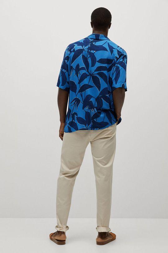 modrá Mango Man - Košile Andrieu