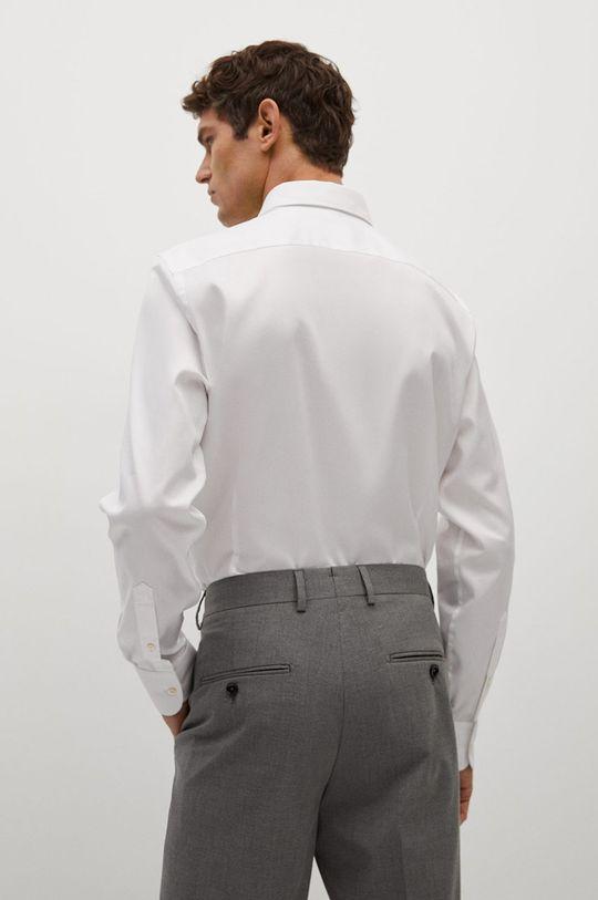 biały Mango Man - Koszula bawełniana Marta