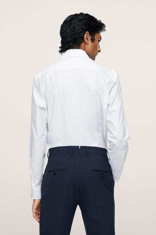 biały Mango Man - Koszula bawełniana Emeritol