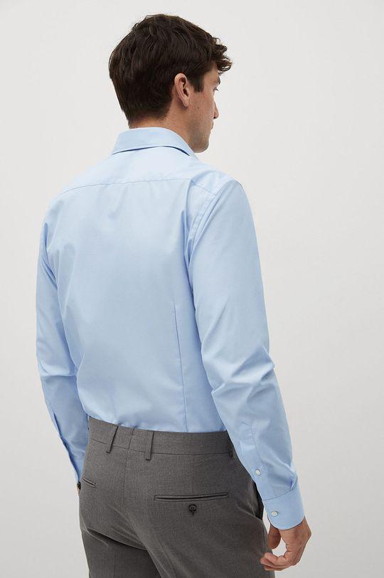 blady niebieski Mango Man - Koszula bawełniana Emeritol