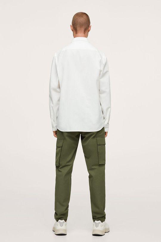 biały Mango Man - Koszula bawełniana Nadia