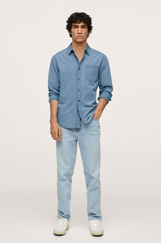 Mango Man - Bavlněná košile Chambre1  100% Bavlna