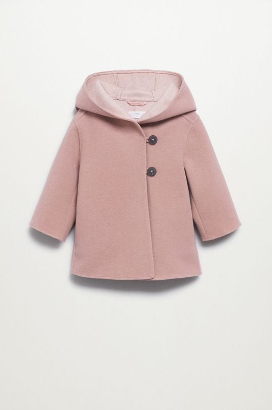 roz Mango Kids - Palton copii Sandra De fete