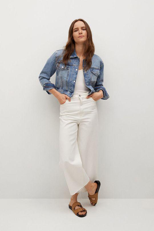 Mango - Kurtka jeansowa Mel niebieski