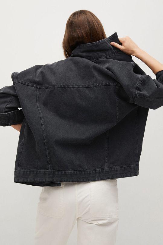 Mango - Džínová bunda Seul  100% Bavlna