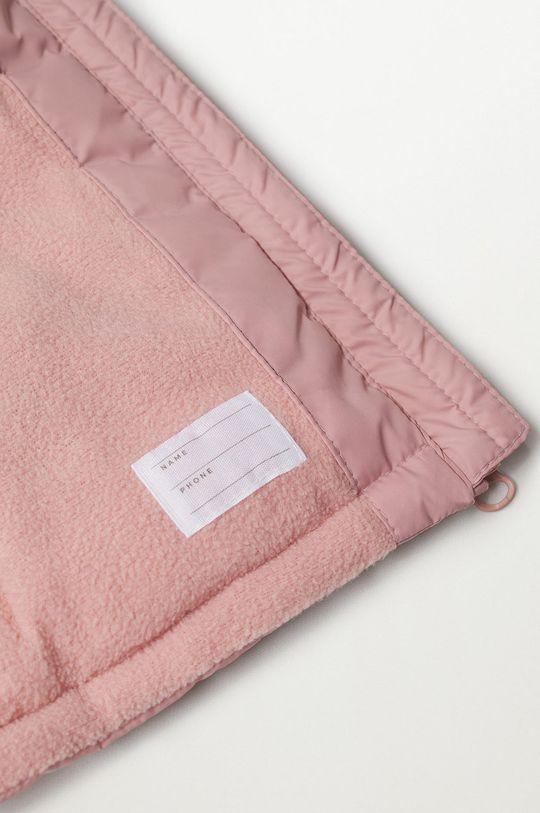 růžová Mango Kids - Dětská bunda JUNE