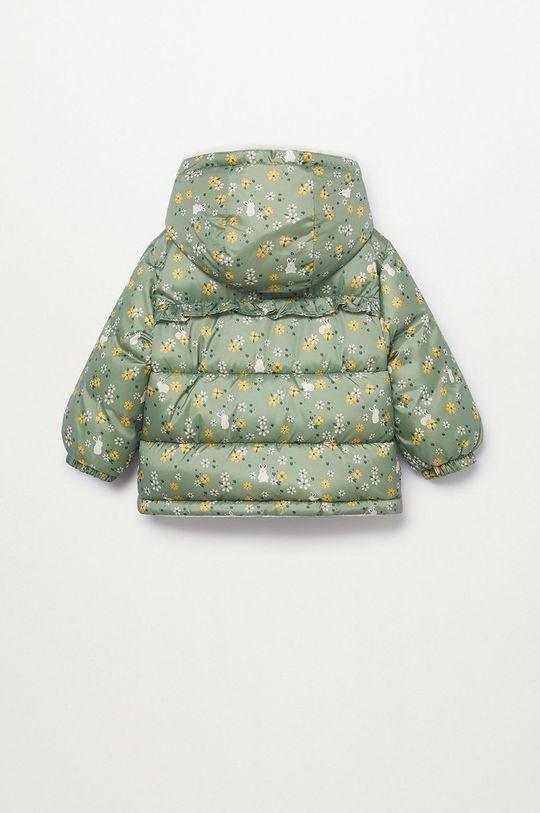 Mango Kids - Dětská bunda JUNE  Podšívka: 100% Polyester Výplň: 100% Recyklovaný polyester Hlavní materiál: 100% Polyester