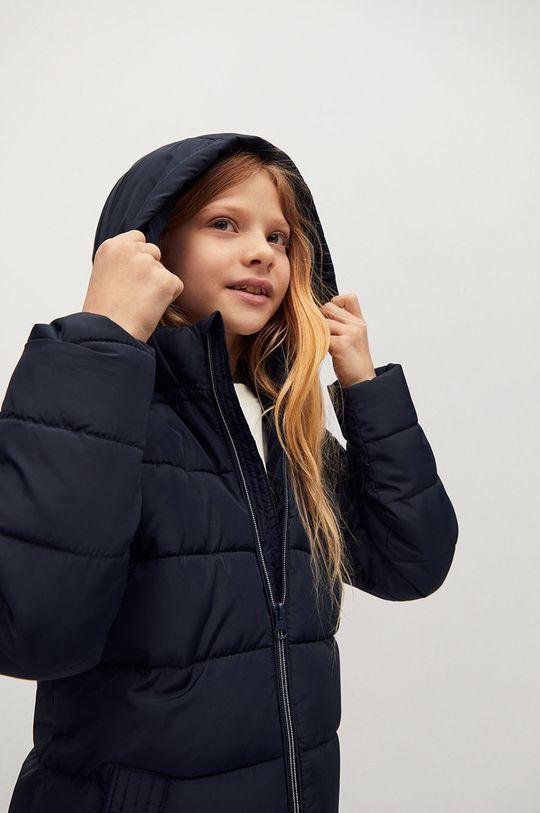 Mango Kids - Detská bunda Alilong  Podšívka: 100% Polyester Výplň: 100% Recyklovaný polyester Základná látka: 100% Polyester