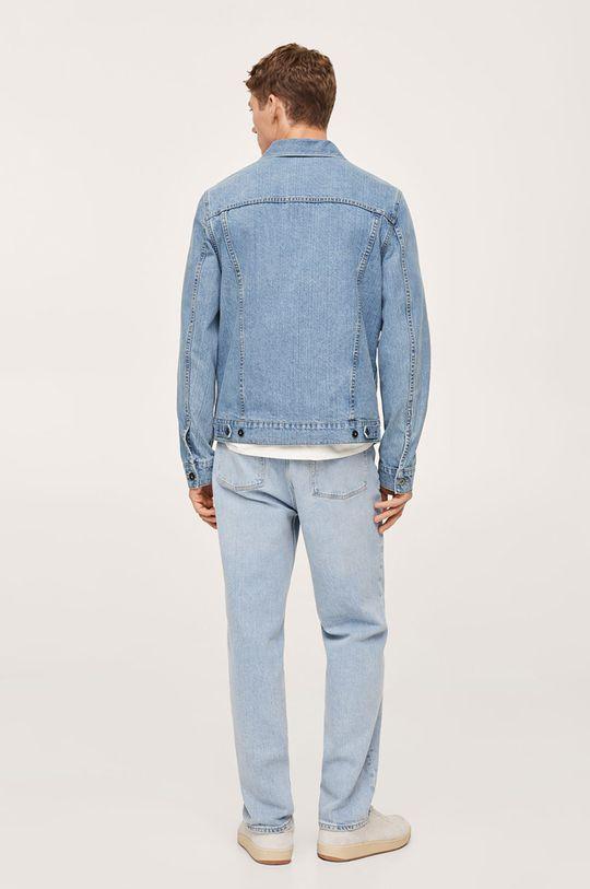Mango Man - Kurtka jeansowa Ryan niebieski