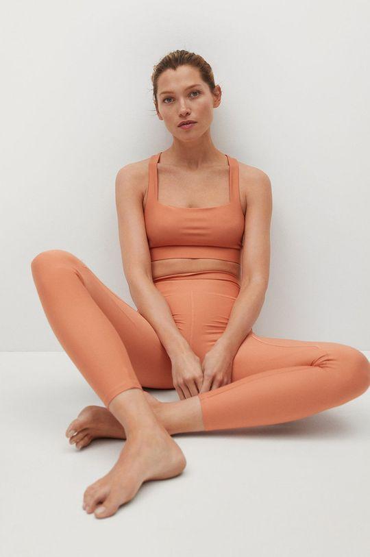 jasně oranžová Mango - Legíny YVES
