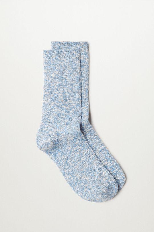 fialová Mango - Ponožky Cotton Dámský