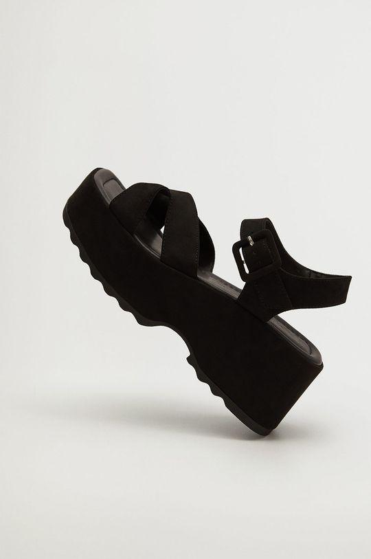 čierna Mango - Sandále SPICY