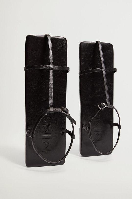 czarny Mango - Sandały skórzane CENTRO