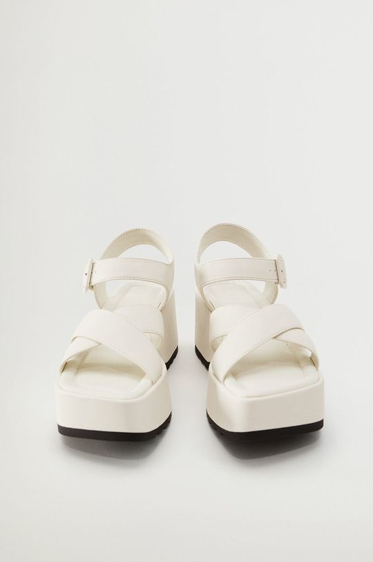 Mango - Sandały SPICY1 biały