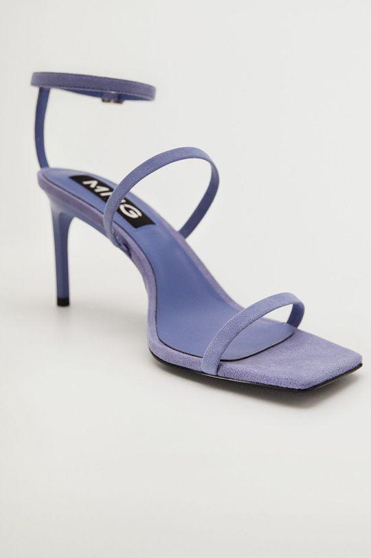 Mango - Kožené sandály ITALIA  Svršek: Kozí kůže Vnitřek: Umělá hmota Podrážka: Umělá hmota