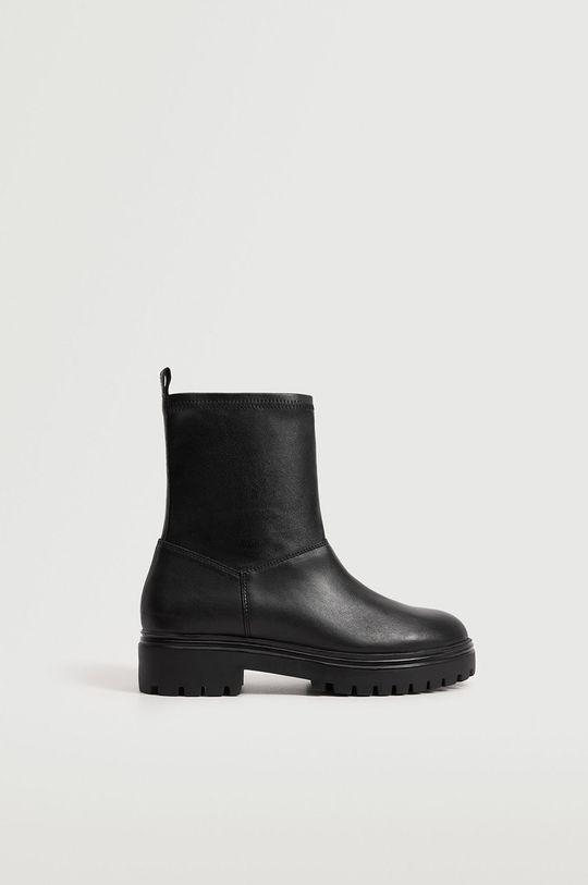 čierna Mango - Členkové topánky Strechy Dámsky