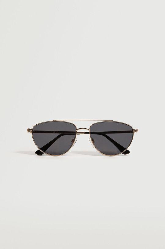 Mango - Slnečné okuliare Rodas zlatá