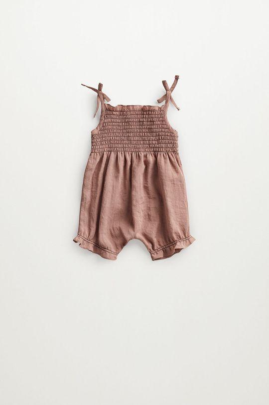 różowy Mango Kids - Kombinezon niemowlęcy Adri 62-80 cm